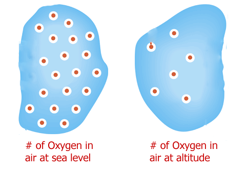 altitude training oxygen levels