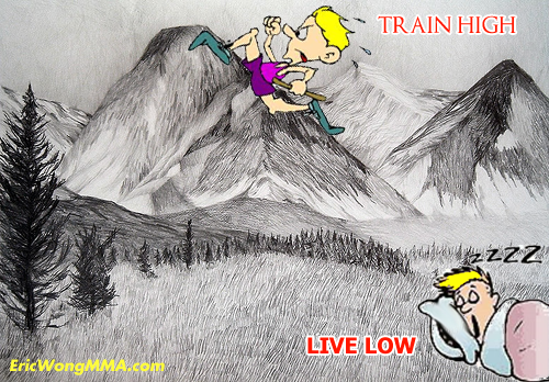 live low train high at altitude